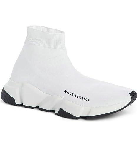 BestVIPP Balenciaga Speed Trainer Sneaker White Black Unisex Hombre Mujer Balenciaga Zapatillas de Running Zapatos: Amazon.es: Zapatos y complementos