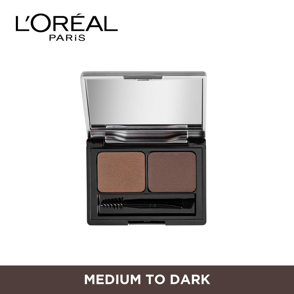 Buy Loreal Paris Brow Artist Genius Kit Medium To Dark 35g Ql Cosmetic Eyebrow Cream 15 Gr Online At Low Prices In India