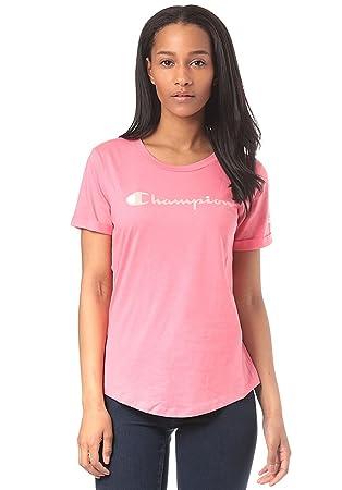 champion shirt damen rosa