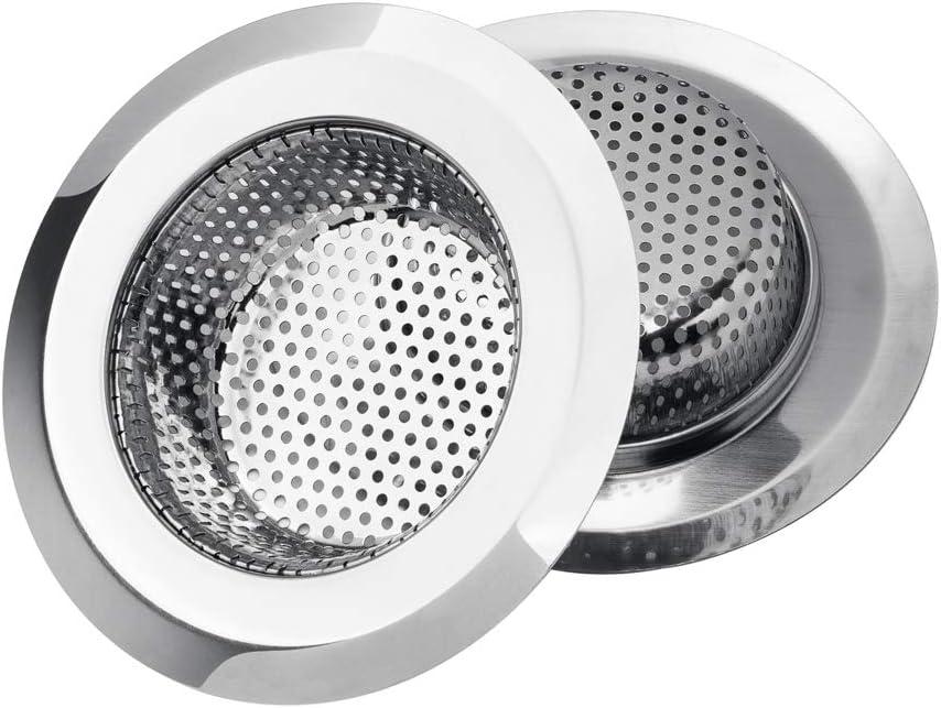 Basket Anti Clog Bathtub Sink Strainer Drain Filter Mesh Trap Waste Catcher