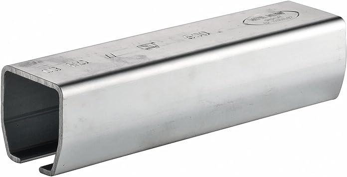 6 Metros GedoTec capas de puertas correderas Carril-guía CASCO Agrario para Schiebetor Profil 100 Acero galvanizado Calidad de marca para su Sala de estar - 6000 mm - Profil 100: Amazon.es: Bricolaje y herramientas