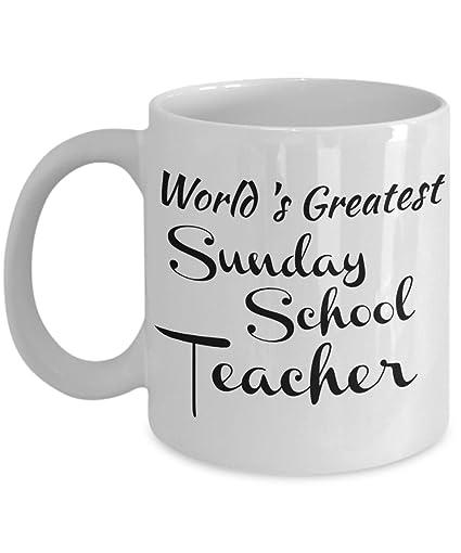 Amazon sunday school teacher mug gifts for a christian sunday school teacher mug gifts for a christian teacher men women coworkers negle Choice Image