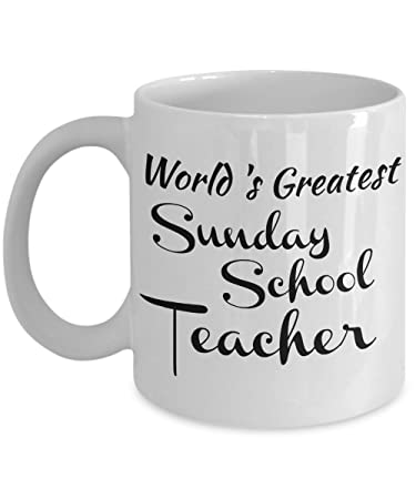 Amazon sunday school teacher mug gifts for a christian sunday school teacher mug gifts for a christian teacher men women coworkers negle Image collections