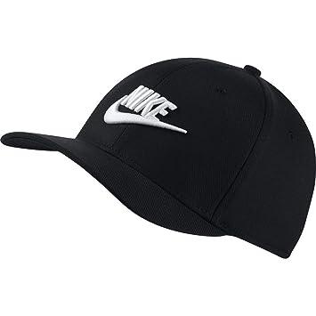 Nike Classic 99 Gorra, Unisex, Negro y Blanco, S/M