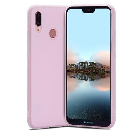 Funda Huawei P20 lite, Carcasa Nova 3e, RosyHeart Suave ...
