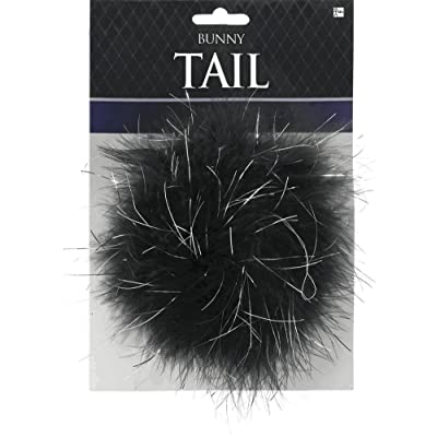 amscan Black Bunny Tail, Multicolor: Toys & Games