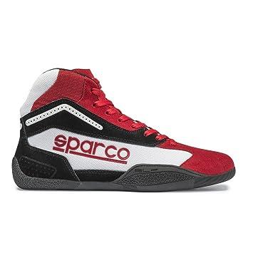 Sparco 00125945RSBI Botines para Karting, Rojo/Blanco, 45: Amazon.es: Coche y moto