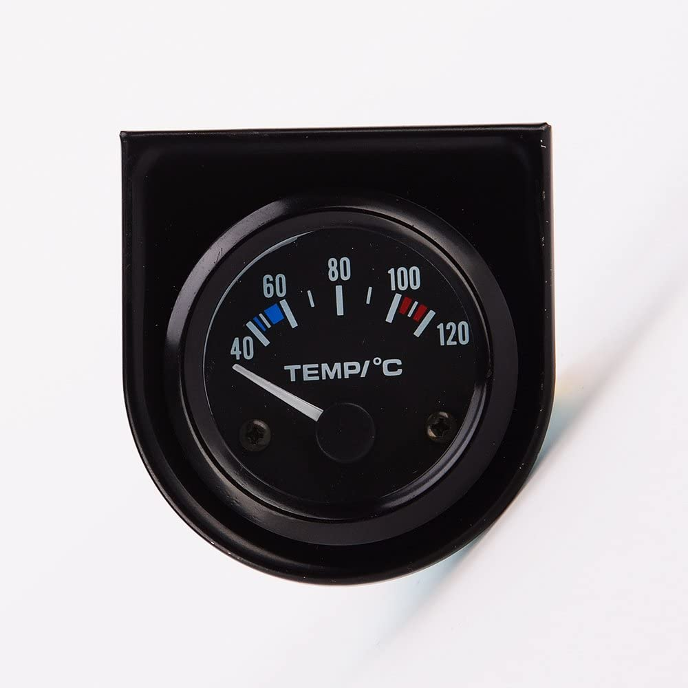 52mm Termómetro Indicador Digital Eléctrico del Sensor de Temperatura del Agua del Motor para Coche