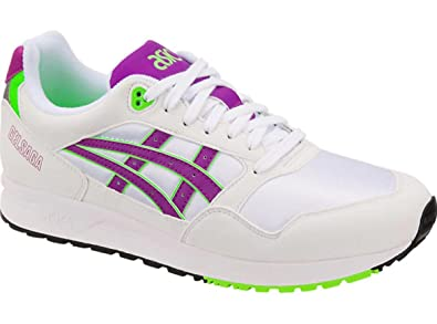 3304611b91ebf Amazon.com | ASICS Gel-Saga Running Shoes White/Orchid Men's 13 M US ...