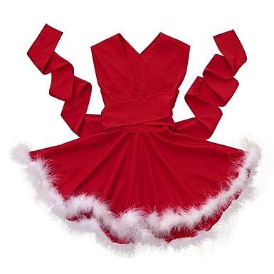 24f9b06601560 Koly Robe Tutu Princesse Costume Deguisement de Noël pour Enfant Bebe Fille  et mère (Bebe