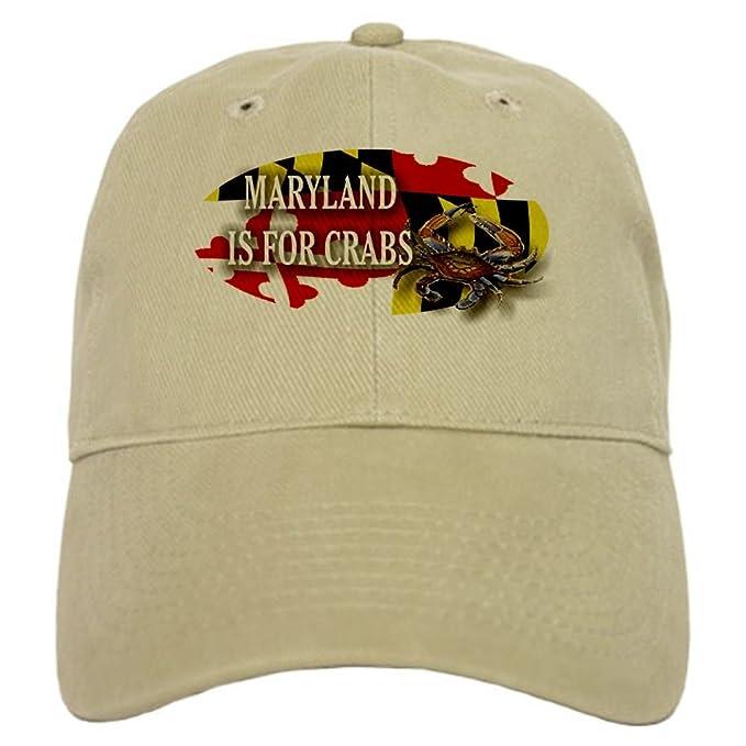 2a4e618bb15 ... coupon code cafepress maryland blue crab cap baseball cap with  adjustable closure unique printed baseball 0b3d3