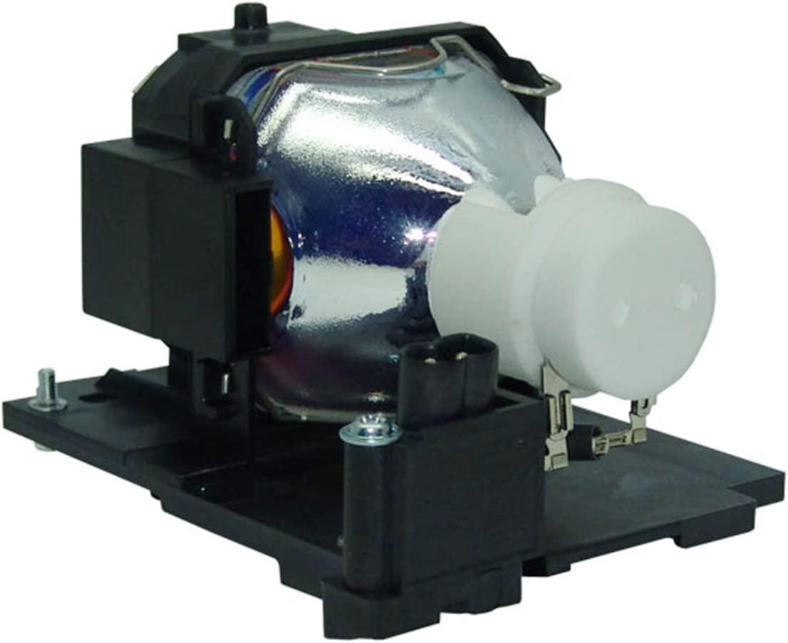 AuraBeam Economic Front Projection Replacement Bulb with Enclosure Part #s DT01021 DT01371 for Hitachi Projectors Compatible Lamp with Housing DT01025