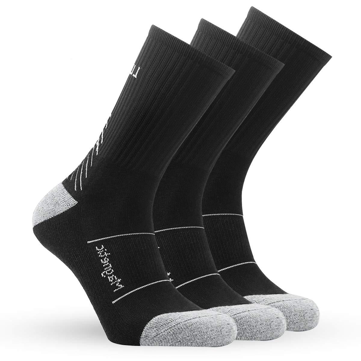IMITOR Calcetines de Senderismo para Hombre y Mujere Algodón Transpirable Calcetines de Trekking Calcetines Térmicos para Actividades al Aire Libre ...