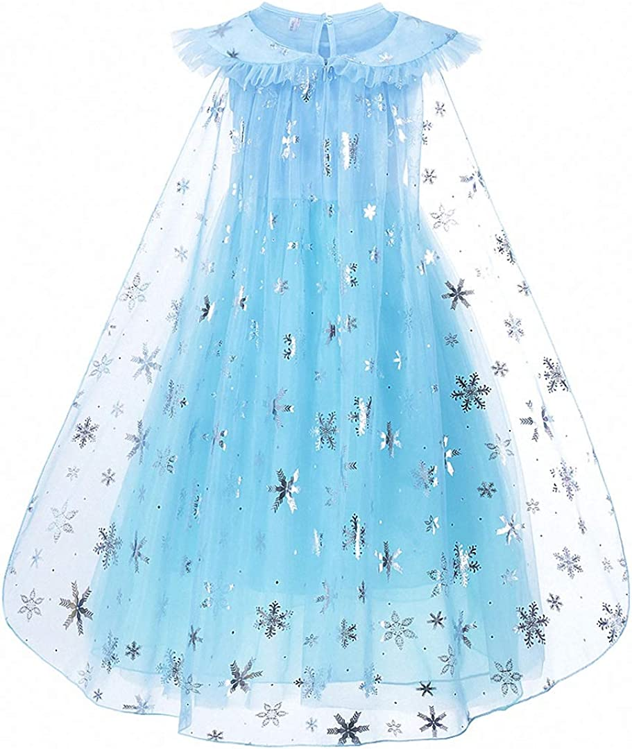 iTVTi Girls/Princess/Costumes/Halloween/Cosplay/Fancy Party/Dress/up/2-8/Years