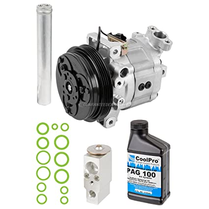 AC Compressor w/A/C Repair Kit For Subaru Forester 2003 2004 2005 2006 2007  - BuyAutoParts 60-81766RK NEW