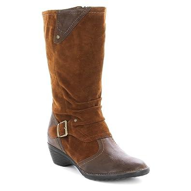 Taos Women's Regent Slouch Boot, Cognac, 42 EU/11-11.5 ...