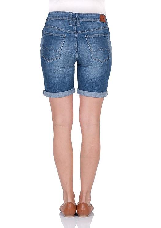Pepe Jeans Damen Short Gr. 60, Denim  Amazon.de  Bekleidung 22e2dd9673
