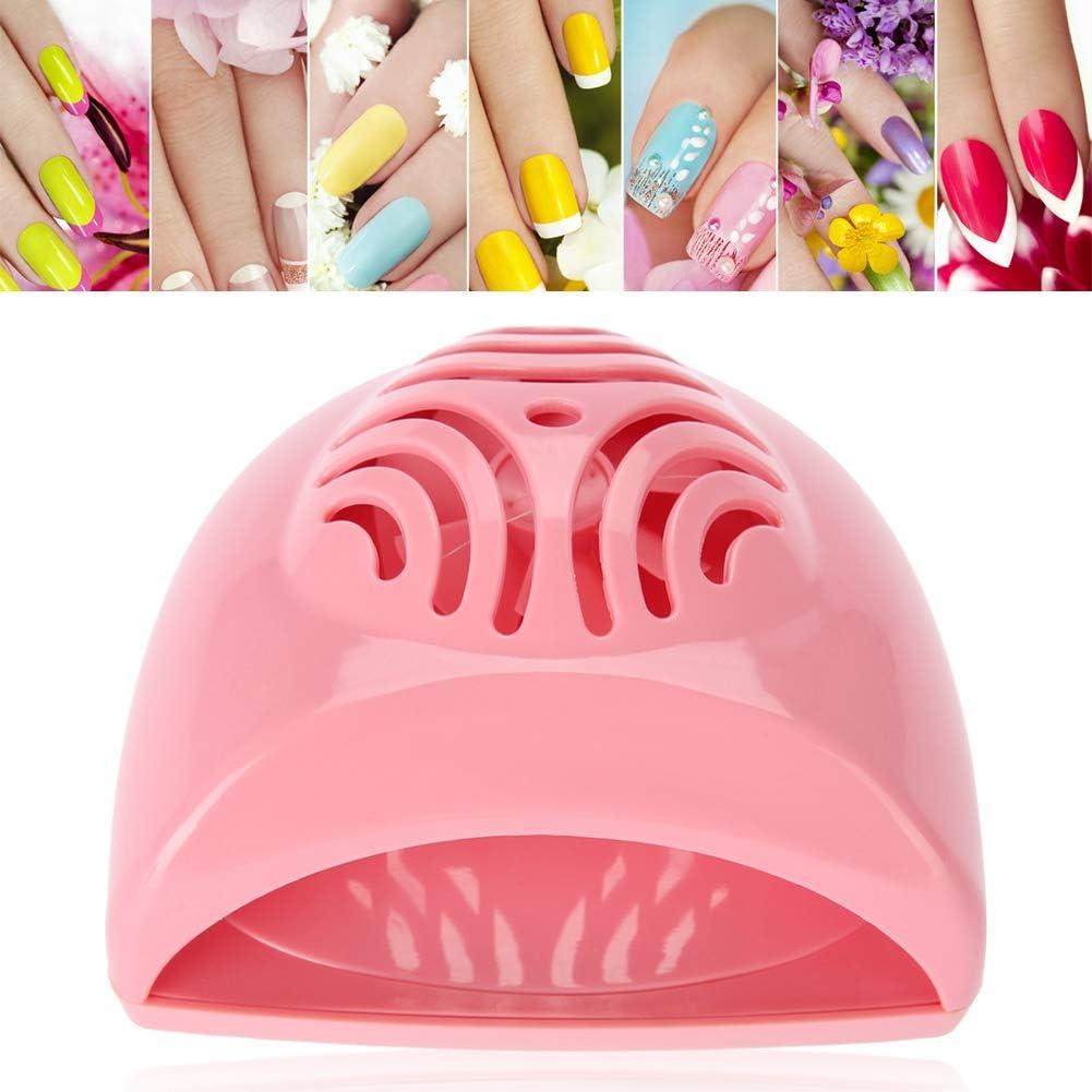Mini Secador de Uñas - Lámpara de Uñas con Diseño del Ventilador ...