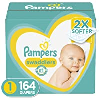 Diapers - Pampers Swaddlers Disposable Baby Diapers