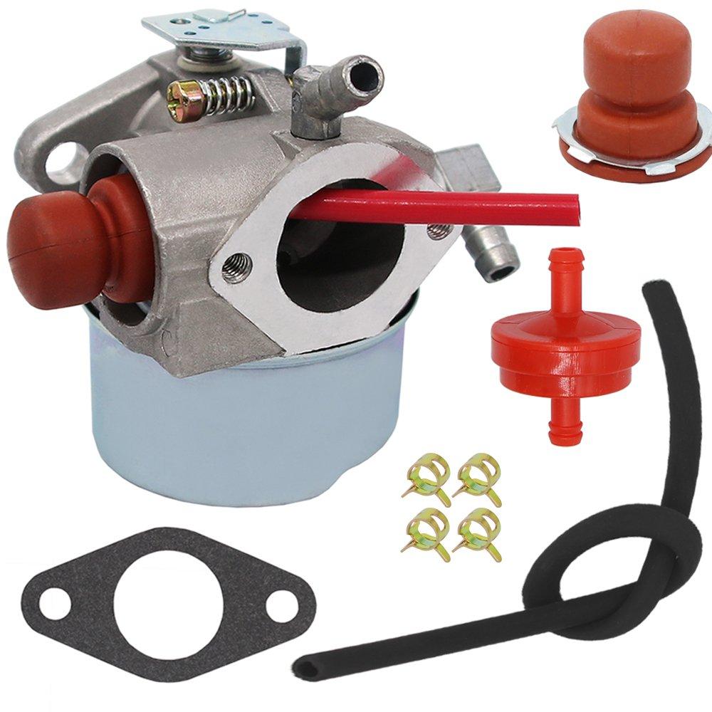 Yooppa Carburetor for Tecumseh 640271 640303 640338 640274 13566 LV195EA LV195XA LEV100 LEV105 LEV120 Mowers Carburetor - Tecumseh 640350 Carburetor