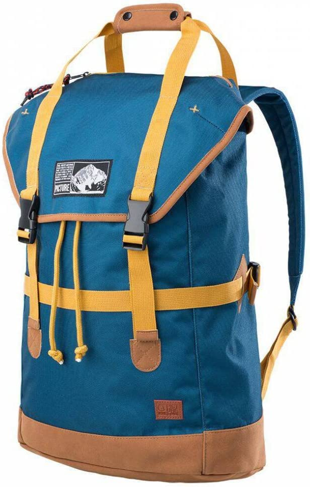 Petrol Blue Picture Soavy Pack Backpack