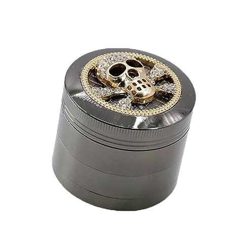 2-Layer Tobacco Spice Herb Grinder Tobacc Smoking Detectors Narguile Grinder
