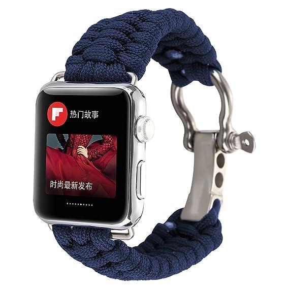 Amazon.com: PINHEN for Apple Watch Series 4 Band - Lifesaving ...