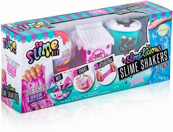 Canal Toys SSC 076 So Slimelicious Slimelicious - Juego de 3 Paquetes de Milk / Ice Cream / Choco: Amazon.es: Juguetes y juegos