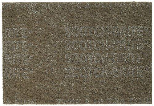 3M HP-HP Scotch-Brite Hand Pad - Ultra Fine Grade 6 in Width x 9 in Length - 7448[PRICE is per BOX]