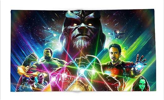 24 Stones Thanos Custom Chrome Gauntlet Marvel Infinity Wars!