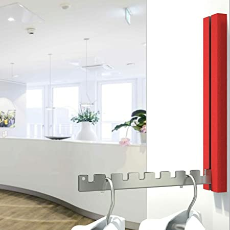 5378b0726c63 Folding Hook LONDON Red - High 13.8 inches - for Balcony