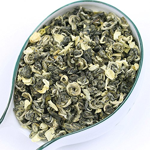 Aseus Bai incense set 2017 new tea Jasmine Tea super floating Luzhou 500g canned Bitan snow shipping by Aseus-Ltd
