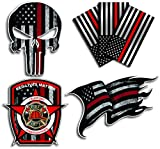 Variety Pack of Thin Red Line Firefighter Fire
