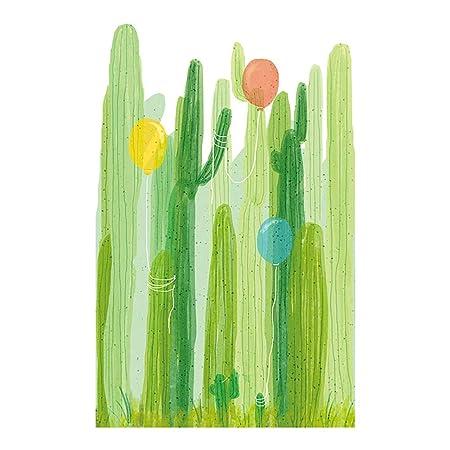 ypypiaol Etiqueta De La Pared del Cactus Sala De Estar Dormitorio ...