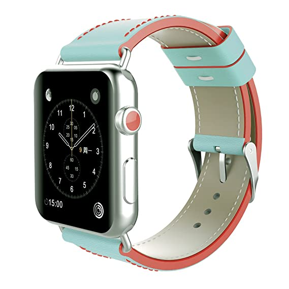 Amazon.com: For Apple Smart Watch Replacement Bands, Dual ...