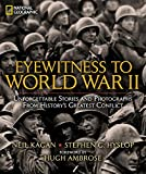 The unforgettable story of World War II is told through the words of those who lived it—America's greatest generation—both on the battlefield and the home front. Personal writings create a dramatic tapestry of wartime experience, and recollections of...