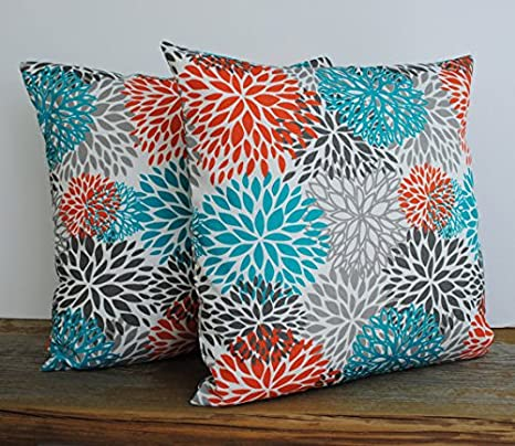 Amazon Com That Dutch Girl One Premier Prints Indoor Outdoor Blooms Pillow Covers 16x16 Cushion Decorative Throw Pillow Decorative Pillow Accent Pillow Home Kitchen