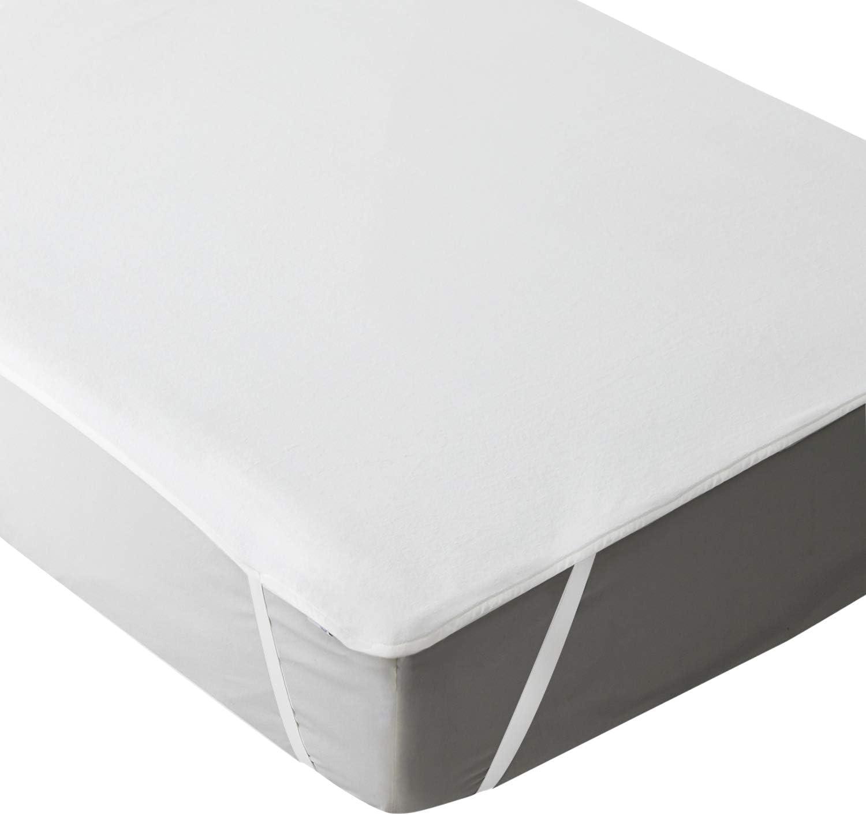 Bedsure Protector de colch/ón Impermeable 60x120cm Funda de colch/ón Super Suave para beb/é y ni/ños Cubre colch/ón Cuna Transpirable e hipoalerg/énica