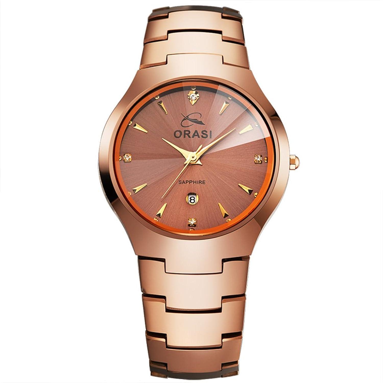 Vintage lÄssig Watch-Wasserdichte Diamant und Englisch- Business-Armband-Formular-D