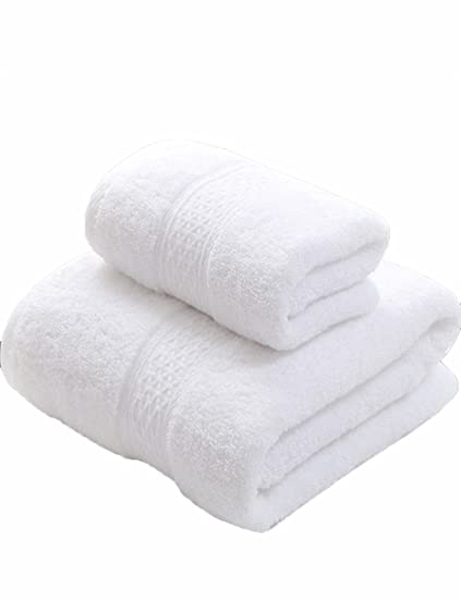 Toalla de algodón Simple Absorbente Toallas de algodón Suave Grande Toallas de algodón Juegos de Toallas