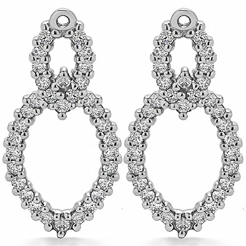 1.02 ct. Cubic Zirconia Chandelier Earring Jacket in Sterling Silver (1.02 ct. twt.) by TwoBirch