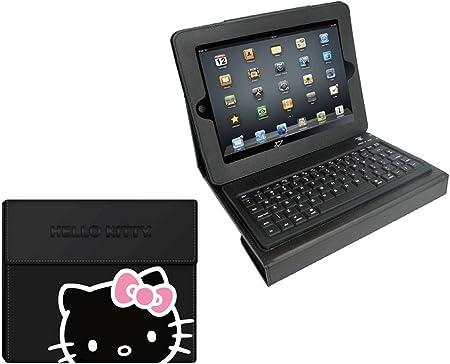 Hello Kitty HK-70189 Teclado para móvil Negro Bluetooth ...