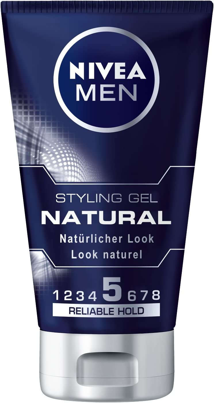 Nivea Men Natural Styling Gel, 3 Pack (3 x 150 ml): Amazon.es: Belleza