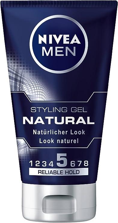 Nivea Men Natural Styling Gel, 3 Pack (3 x 150 ml): Amazon.es: Belleza