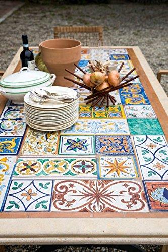 Tavoli Da Giardino Con Mosaico.Dafnedesign Com Tavolo Con Mosaico Da Giardino E Da Taverna Mod