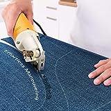RoMech Mini Electric Cloth Cutter, Rotary Blade