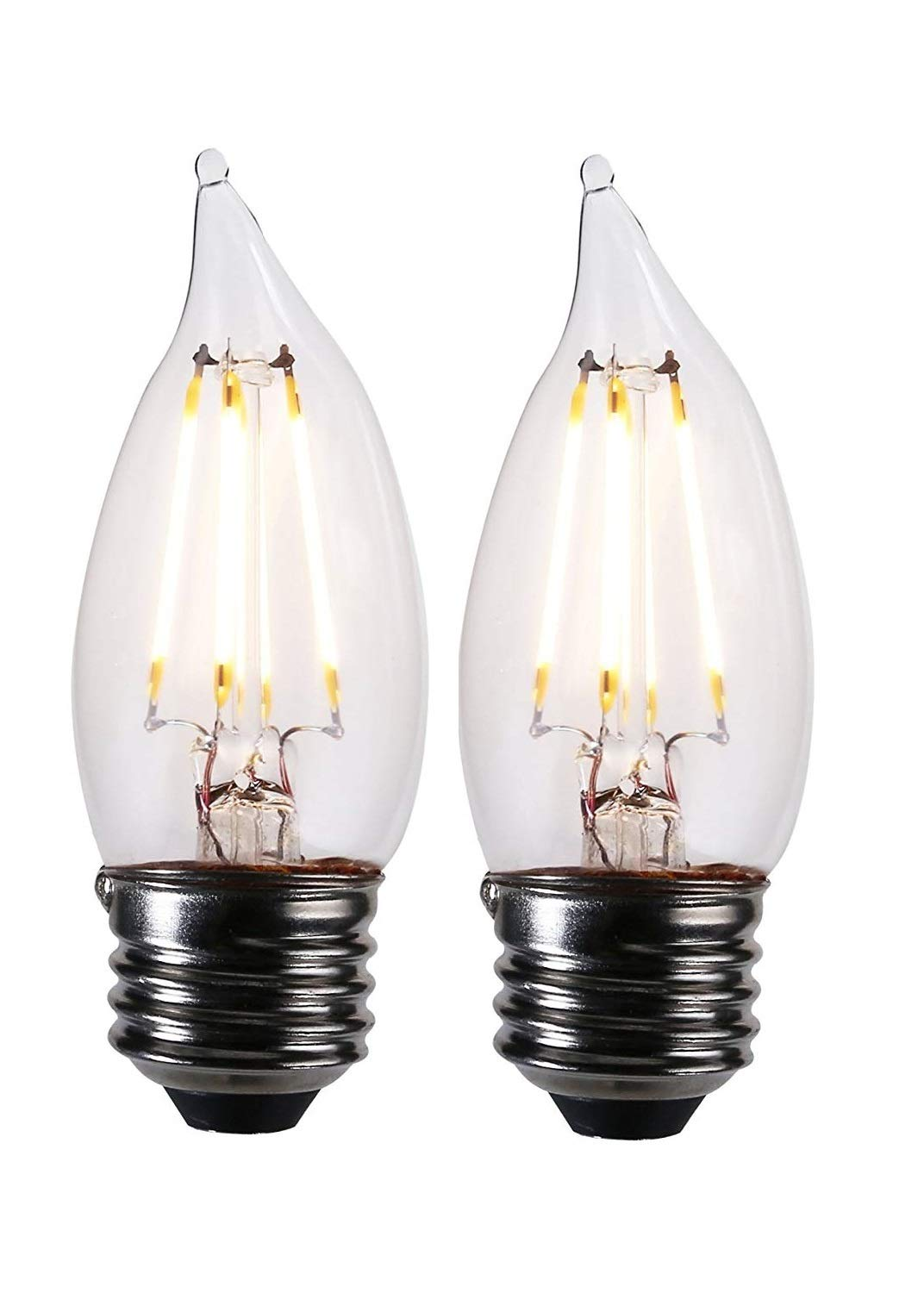 LED Flame Tip Lightbulbs
