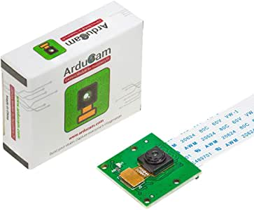 Arducam 5MP Camera for Raspberry Pi, 1080P HD OV5647 Camera Module V1 for Pi 4, Raspberry Pi 3, 3B+, and Other A/B Series