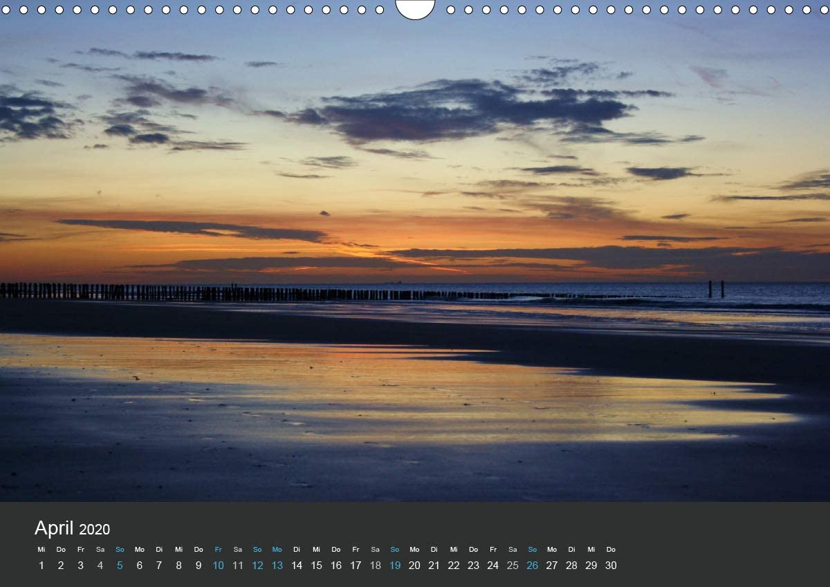 "Zeeland Kalender ""Traumhaftes Zeeland 2020"""