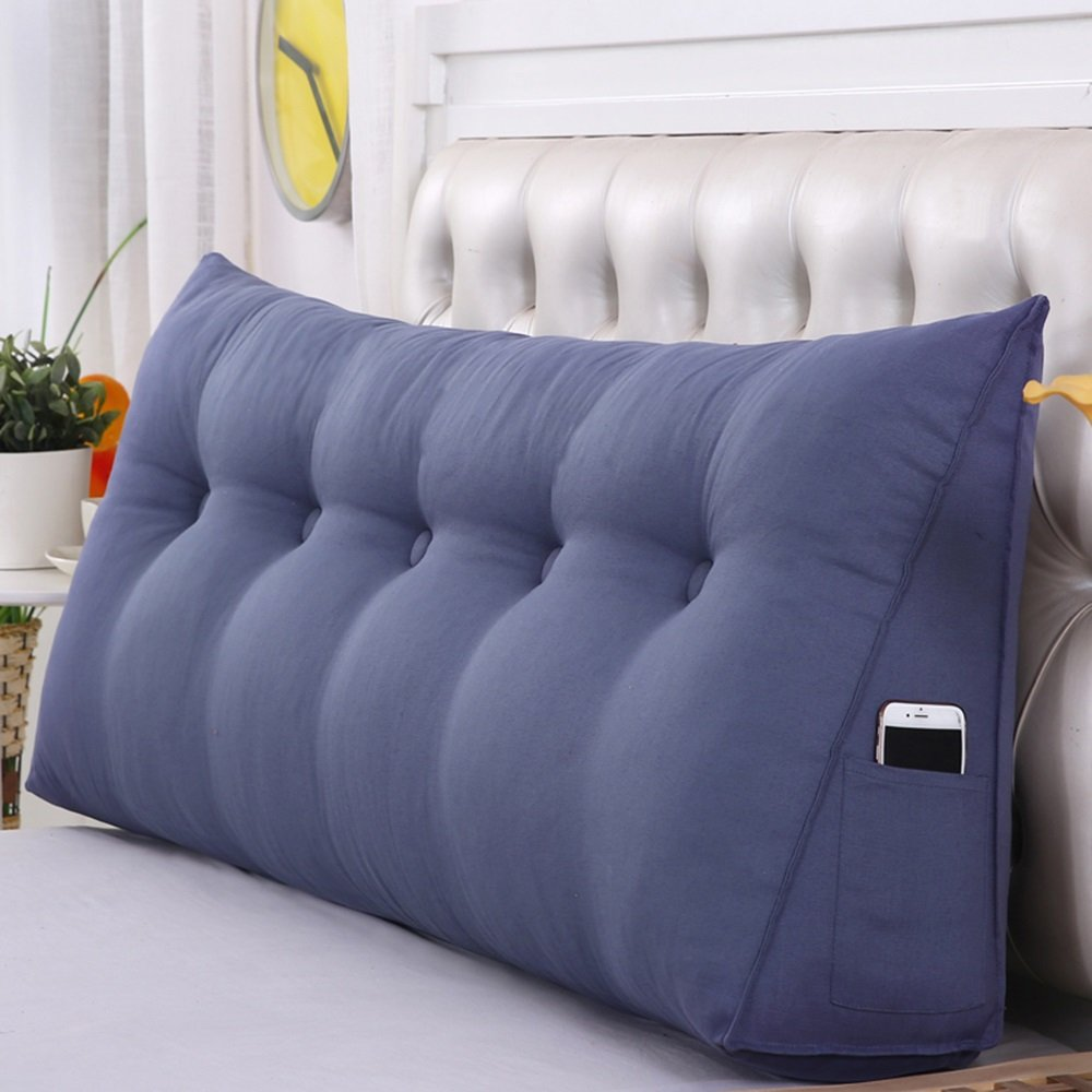 Amazon.com: Cojines cama respaldo respaldo para cama cuña ...